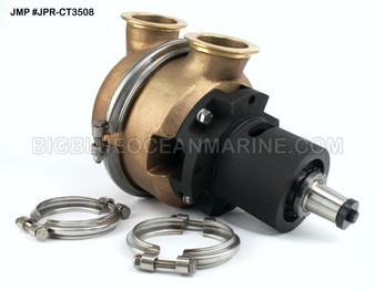 #JPR-CT3508 JMP Marine Caterpillar Replacement Engine Cooling Seawater Pump Replaces Caterpillar 7C3614, Gilkes 44953-054