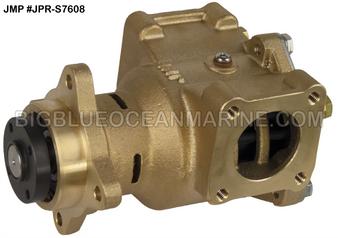 JMP Marine Cummins Replacement Engine Cooling Seawater Pump #JPR-S7608 Cummins 5268375, 4948142, 3974455, Sherwood P2701X, P2701-01, P2702-01, P2706-01, P2708X, P2710-01