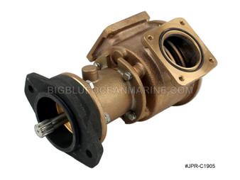 #JPR-C1905 JMP Marine Cummins Replacement Engine Cooling Seawater Pump Replaces Cummins 3866609, Jabsco 18770-0003