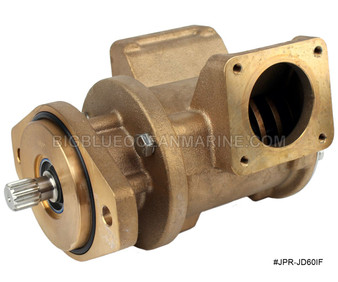 #JPR-JD60IF JMP Marine Replacement John Deere Raw Water / Seawater Engine Cooling Pump Replaces John Deere RE530872, RE530689, RE536016, RE524510 Replaces Sherwood G1816X