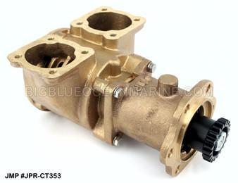 #JPR-CT3530 JMP Marine Caterpillar Engine Cooling Seawater Pump. CAT 3N1888, Jabsco 17360-1001