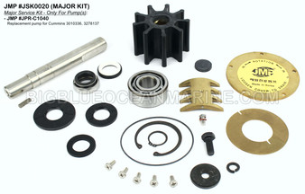 JSK0020 Major Service Kit for JMP Marine Pump #JPR-C1040