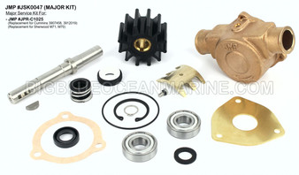 JSK0047 Major Service Kit for JMP Marine Pump #JPR-C1025