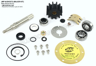 JSK0073 Major Service Kit for JMP Marine Pump #JPR-NL10IP