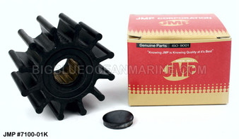 JMP FLEXIBLE IMPELLER #7100-02 (Impeller Image)