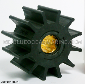 JMP FLEXIBLE IMPELLER #8100-02 (Actual Impeller Image)