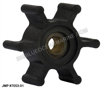 JMP FLEXIBLE IMPELLER #7053-02 (Actual Impeller Image)