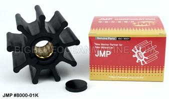 JMP FLEXIBLE IMPELLER #8000-02 (Actual Impeller Image)