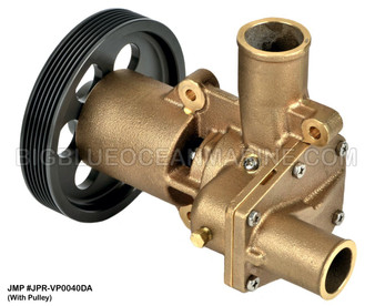 JMP #JPR-VP0040DA JMP VOLVO PENTA REPLACEMENT RAW WATER ENGINE COOLING PUMP (PUMP WITH PULLEY)