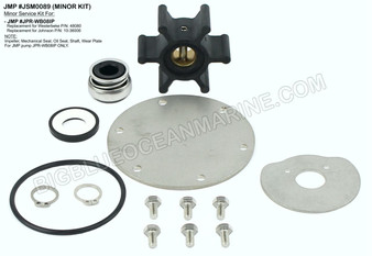 JSM0089 Minor Service Kit for JMP Marine Pump #JPR-WB08IP
