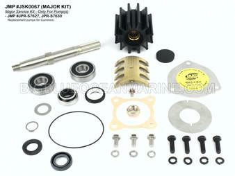 JSK0067 Major Service Kit for JMP Marine Pump(s) JPR-S762, JPR-S7630