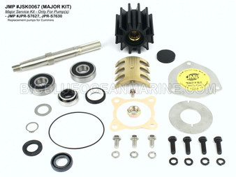 JSK0067 Major Service Kit for JMP Marine Pump(s) JPR-S762, JPR-S7630