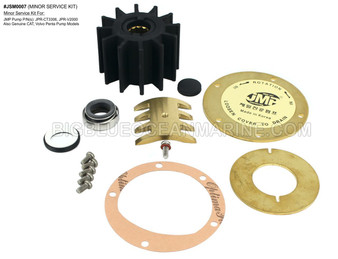 JSM0007 - MINOR SERVICE KIT Services JMP Marine JPR-CT3306, JPR-V2000 & OEM