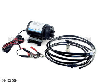 12V GEAR PUMP OIL CHANGE KIT #04-03-009