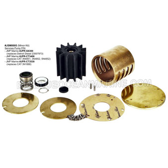 #JSM0005 JMP MARINE MINOR SERVICE KIT Service Caterpillar and Detroit Diesel JPR-CT3406, JPR-CT3530, JPR-G6300
