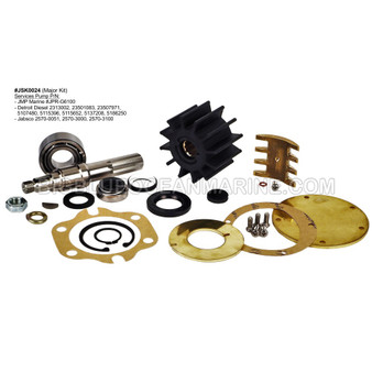 #JSK0024 JMP MARINE MAJOR SERVICE KIT Service Detroit Diesel JPR-G6100 Replaces Detroit Diesel Kit #5197224