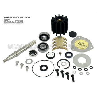 JSK0072 MAJOR SERVICE KIT For JMP Marine pump JPR-S7632
