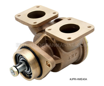 "#JPR-HME40A JMP Marine Hyundai Marine Replacement Engine Cooling Seawater Pump M6D30 Series 1.5"" Flange Ports"