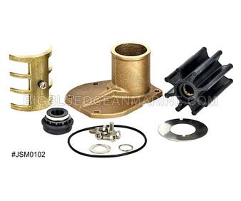 #JSM0102 JMP Marine Volvo Penta Engine Cooling Seawater Pump Minor Service Parts Kit Services JPR-VP0060DA, Volvo Penta 21380890, 3589907, Jabsco 50394-8300