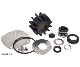 JSM0130 JMP MARINE YANMAR MINOR SERVICE PARTS KIT SERVICES PUMP(S): Yanmar 129670-42513, 129271-42502 Johnson 10-13328-04, 10-13328-02, 10-13328-01, 10-13328-03