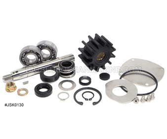 JSK0130 JMP MARINE YANMAR MINOR SERVICE PARTS KIT SERVICES PUMP(S): Yanmar 129670-42513, 129271-42502 Johnson 10-13328-04, 10-13328-02, 10-13328-01, 10-13328-03