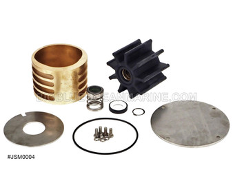 #JSM0004 JMP Marine Detroit Diesel Engine Cooling Seawater / Raw Water Pump Minor Service Kit. For Pump(s): JPR-G6500, JPR-G6400 For Detroit Diesel Pump: 23525200, 23522735, 23535447, 23525078, 8927296 For Jabsco Pump 17540-0201, 17540-0001, 18780-0001