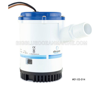Albin Pump Marine Heavy Duty Bilge Pump 2250 GPH 24V #01-03-014