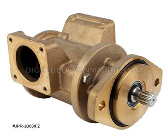 #JPR-JD60IF2 JMP Marine John Deere Replacement Seawater Engine Cooling Pump (Replaces John Deere DZ108620, Sherwood G2910X)