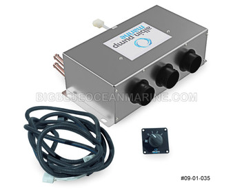 #09-01-035 Albin Pump Marine Pleasure Boat Defroster / Heater Kit 6kW 12V