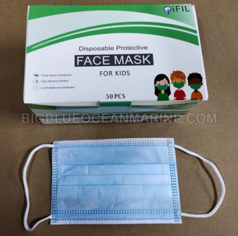 Griffin iFIL 3Ply Disposable Ear-Loop Face Mask for Children (FFP1)