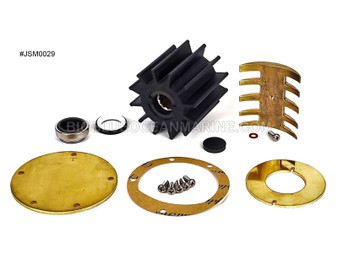 #JSM0029 JMP Marine Detroit Diesel Engine Cooling Seawater Pump Minor Service Kit For Pump JPR-G6200 For Detroit Diesel Pump 23507972, 23501769, 5106016, 5122599, 8924265 For Jabsco Pump 6980-3100
