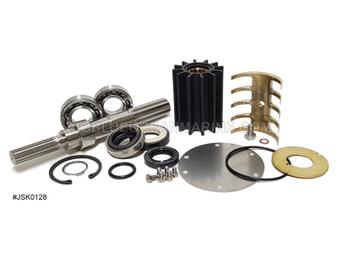 JSK0128 JMP Marine Yanmar Engine Cooling Seawater Pump Major Service Kit Yanmar pump 119574-42502, Johnson 10-13170-01