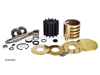 #JSK0026 JMP Marine Detroit Engine Cooling Seawater Pump Major Service Kit - Replaces Kit 8927566. Services Pumps JPR-G6300, Detroit Diesel 23507973, 23507475, 23507476, 23507477, 23522698, 8923363, Jabsco 18760-0001, 17367-8000