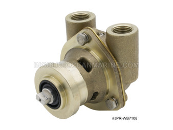 #JPR-WB7108 JMP Marine Westerbeke Replacement Engine Cooling Seawater Pump Westerbeke 42175, Sherwood G908, G903, Universal 302648, 302837
