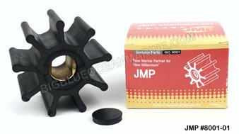 JMP FLEXIBLE IMPELLER #8001-01 (Impeller & Cap) (Replaces Doosan 60.06804-0010)