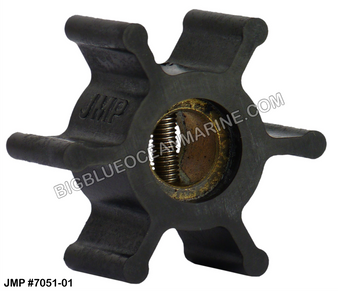 JMP FLEXIBLE IMPELLER #7051-01 (Actual Impeller Image)