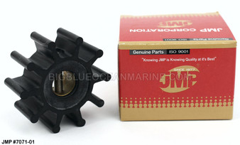 JMP FLEXIBLE IMPELLER #7071-01 (Actual Impeller Image)