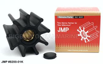 JMP FLEXIBLE IMPELLER #8200-01 (Actual Impeller Image)