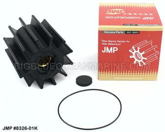 JMP FLEXIBLE IMPELLER KIT#8326-01K (Includes: Impeller, End Cap, O-Ring)