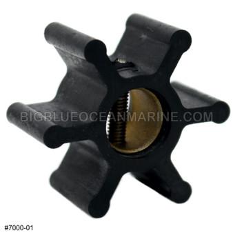 JMP MARINE FLEXIBLE IMPELLER #7000-01 Part of Kit #7000-01K
