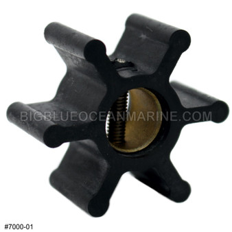 JMP MARINE FLEXIBLE IMPELLER #7000-01 Part of Kit #7000-01K