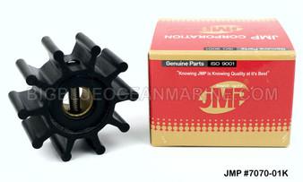 JMP FLEXIBLE IMPELLER #7070-01 (Actual Impeller Image)