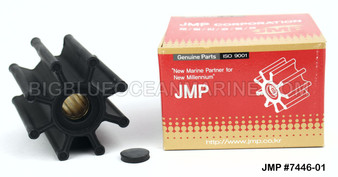 JMP FLEXIBLE IMPELLER #7446-01 (Actual Impeller Image)