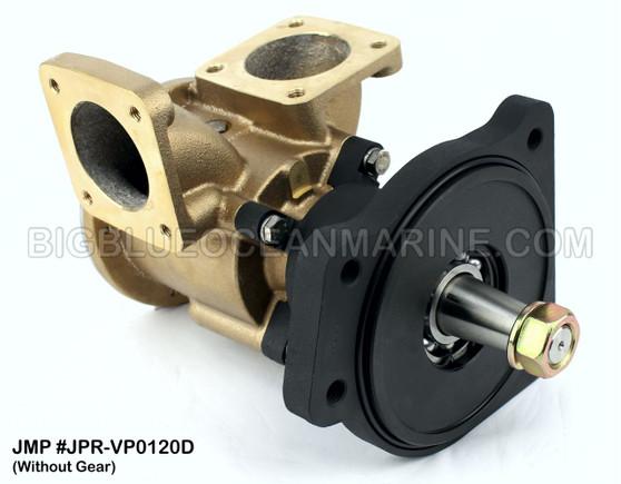 JMP #JPR-VP0120D JMP VOLVO PENTA REPLACEMENT RAW WATER ENGINE COOLING PUMP (PUMP WITHOUT GEAR)