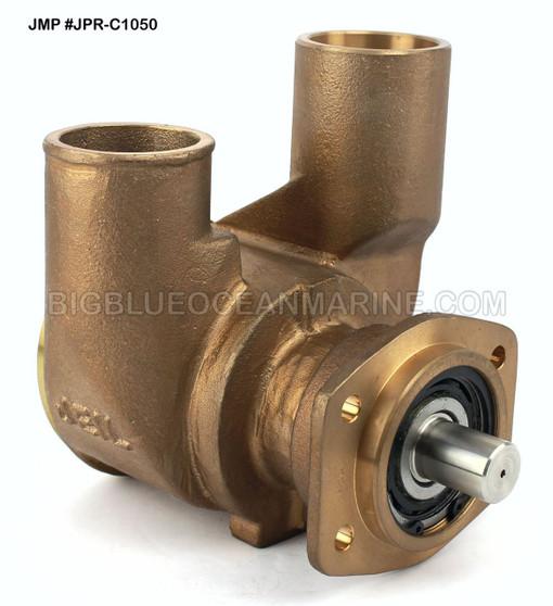 JMP #JPR-C1050 JMP CUMMINS REPLACEMENT RAW WATER ENGINE COOLING PUMP Replaces Cummins 217308, Jabsco 18200-0001