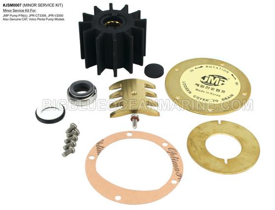 JSM0007 - MINOR SERVICE KIT Services JMP Marine JPR-CT3306, JPR-V2000 & OEM