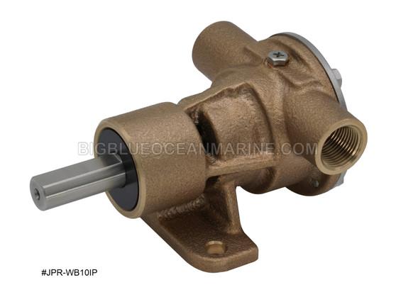 #JPR-WB10IP JMP Marine Westerbeke Replacement Engine Cooling Raw Water / Seawater Pedestal Pump Replaces Johnson 10-24569-01 Replaces Westerbeke Universal 55624, 056624 replaces old p/n 42026, 042026 / 46120, 046120
