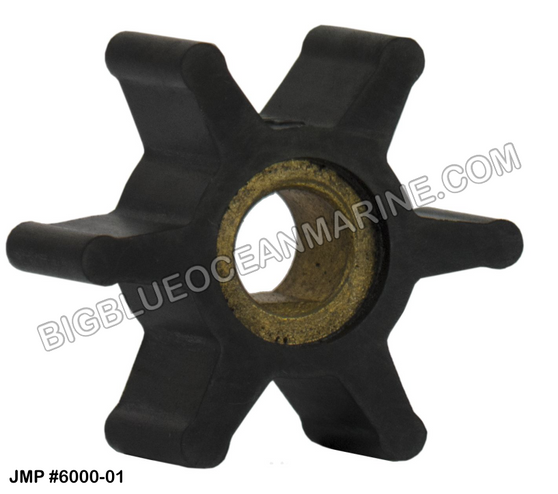JMP FLEXIBLE IMPELLER #6000-01 (Actual Impeller Image)