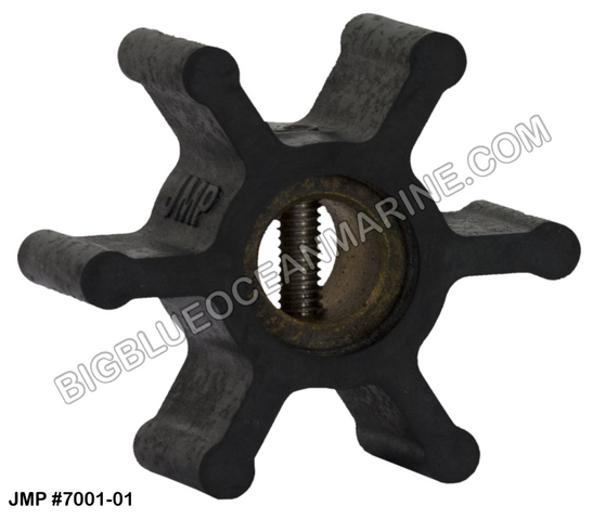 JMP FLEXIBLE IMPELLER #7001-01 (Actual Impeller Image)