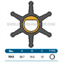 JMP FLEXIBLE IMPELLER #7013-01 (SPECS)